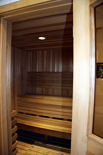 Dry Sauna at WFCC in Ajax
