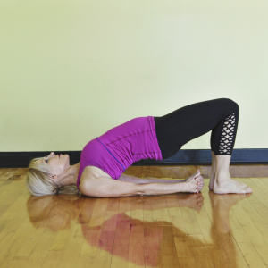 Bridge Yoga Pose - Yoga For Better Digestion - Square