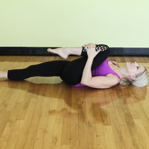 Wind-Relieving Pose - Yoga For Better Digestion - Square